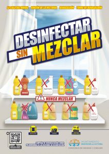 Desinfectar sin Mezclar